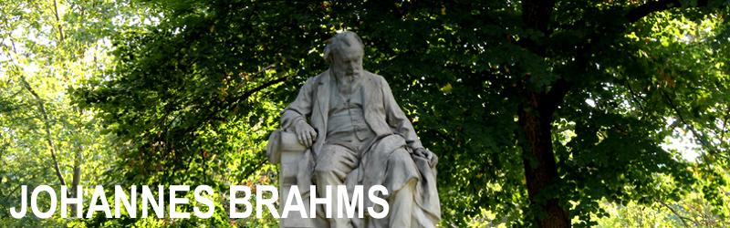 Bladmuziek Johannes Brahms