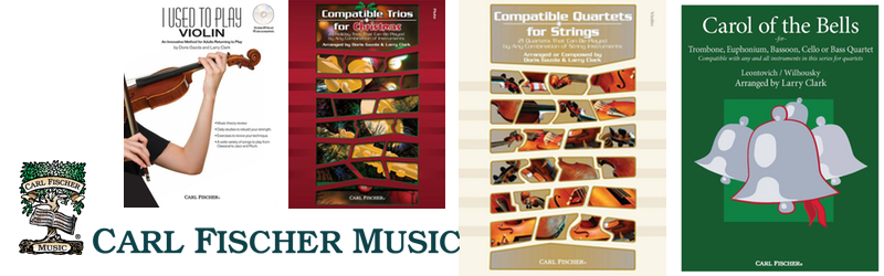 Bladmuziek van muziekuitgeverij Carl Fischer