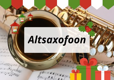 Kerst Altsaxofoon
