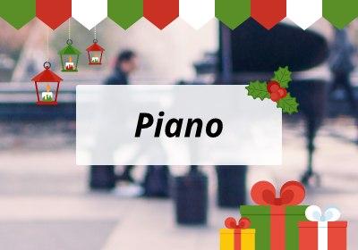 Kerst piano