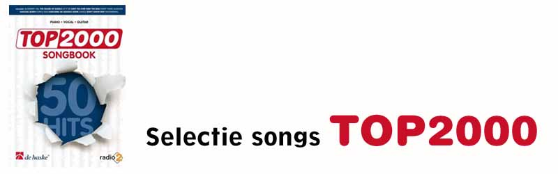Bladmuziek Songbooks Top2000 Radio2