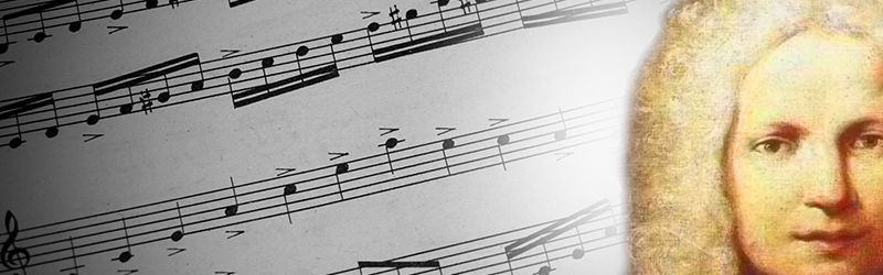Bladmuziek Antonio Vivaldi