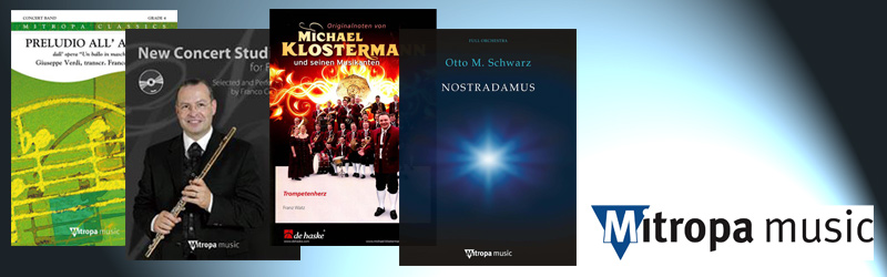 Bladmuziek Mitropa Music
