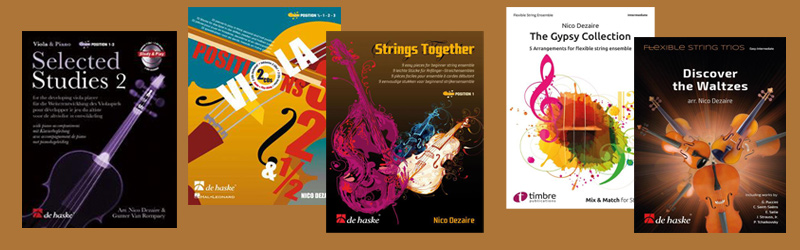 Catalogus Vioolmuziek Nico Dezaire